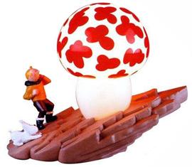 lampe tintin champignon